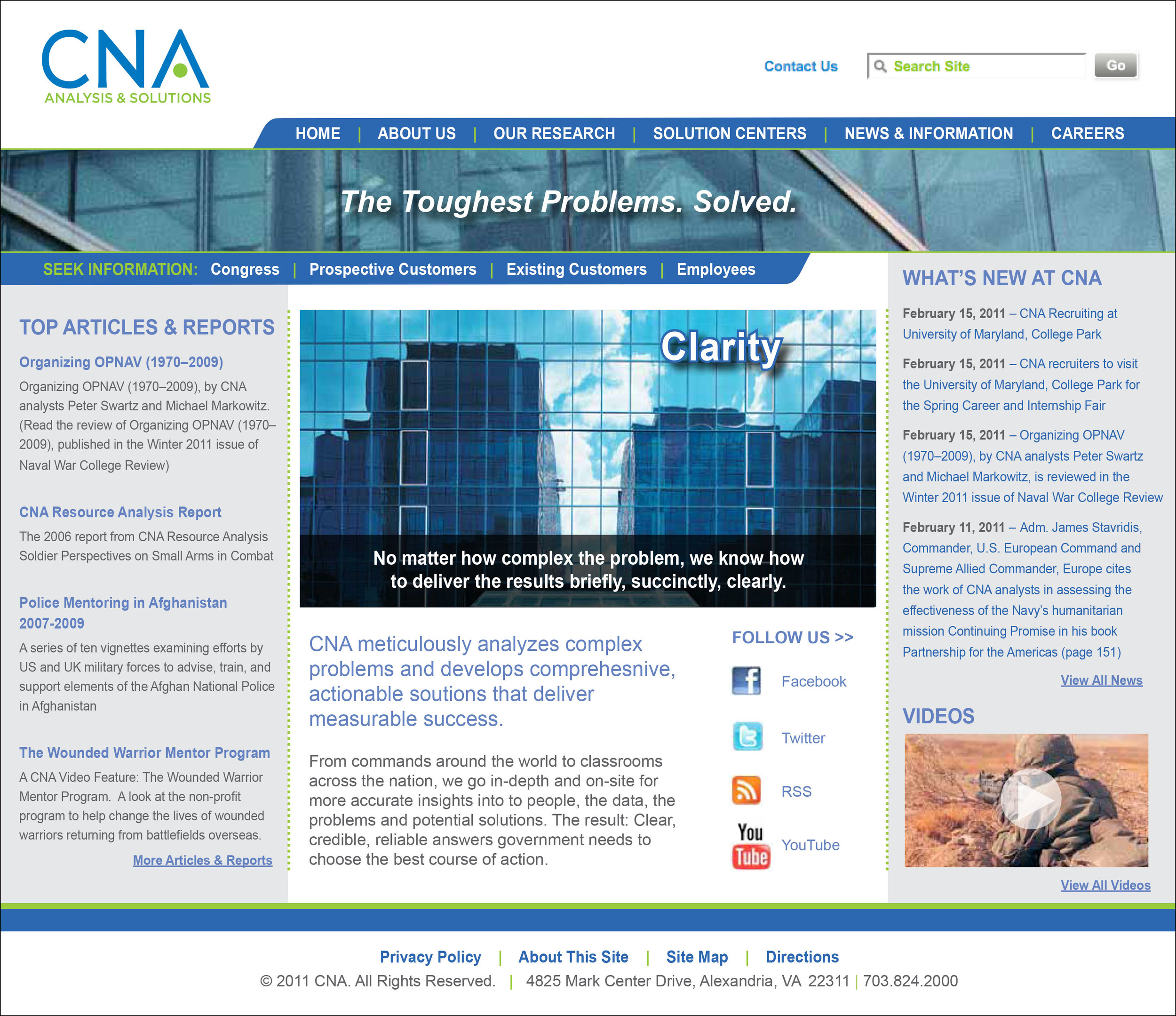CNA Website Design