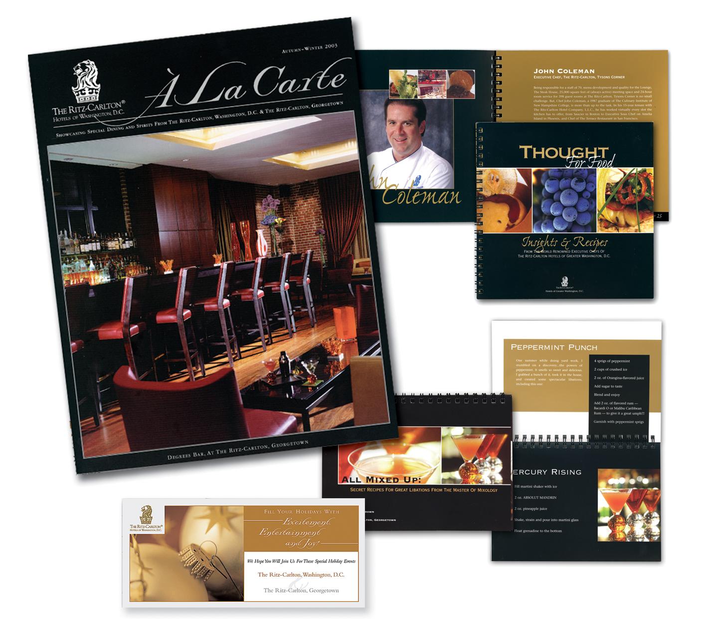 The Ritz-Carlton Hotels of D.C. Food & Beverage DM