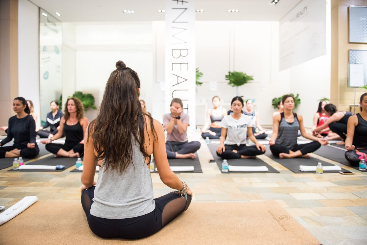 Neiman Marcus In-Store Wellness Event