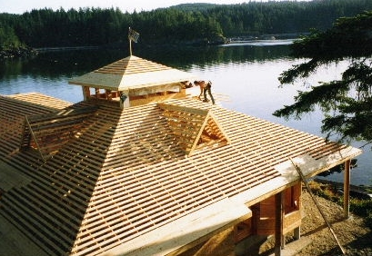 Custom Home, Quadra Island BC
