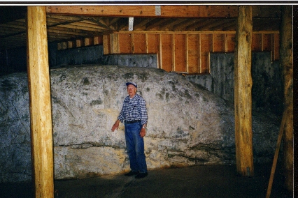 STONE IN BASEMENT UNDER CONSTRUCTION.JPG