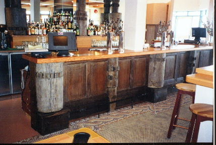 THE COG & KETTLE BAR BUILT WITH  OLD SUGARCANE COGS.JPG