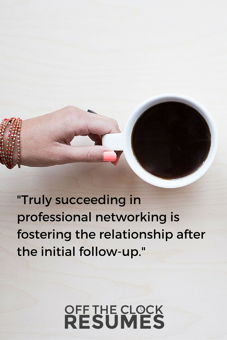 5 Hacks For Successful Professional Networking | Off The Clock Resumes