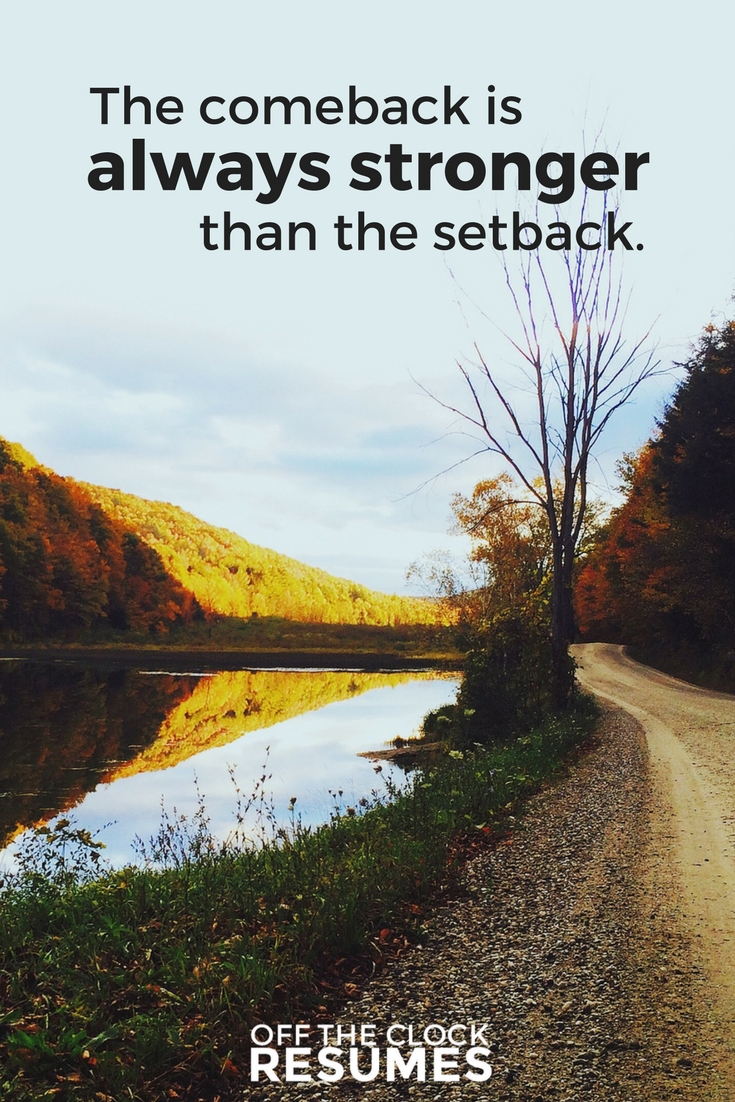 The comeback is always stronger than the setback. | Motivational Quote