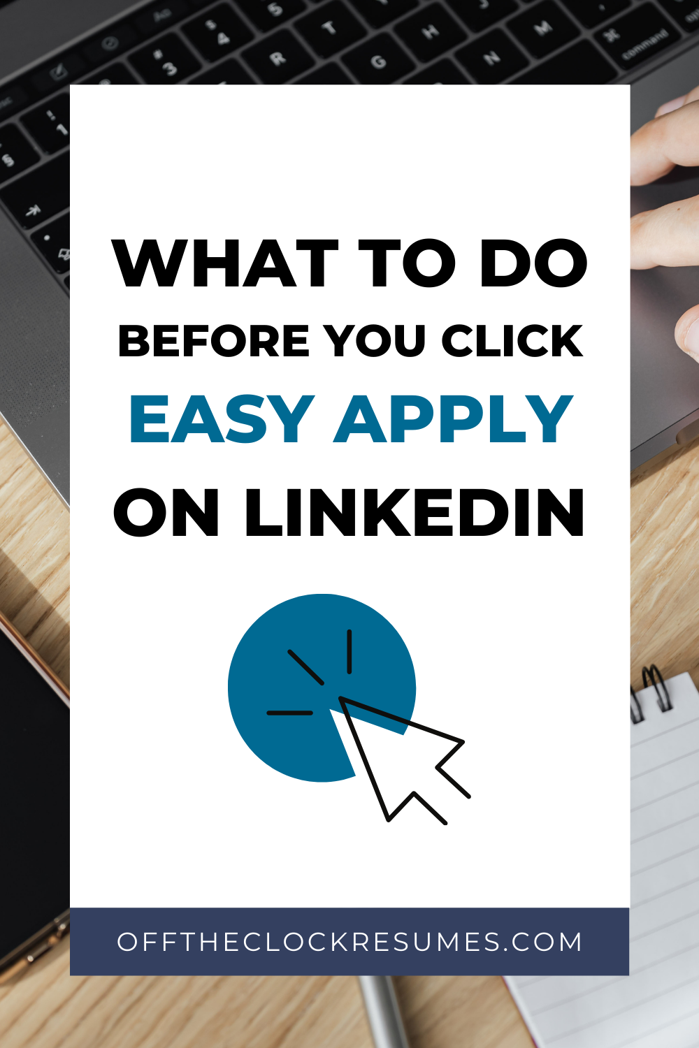 What To Do Before You Click Easy Apply On Linkedin