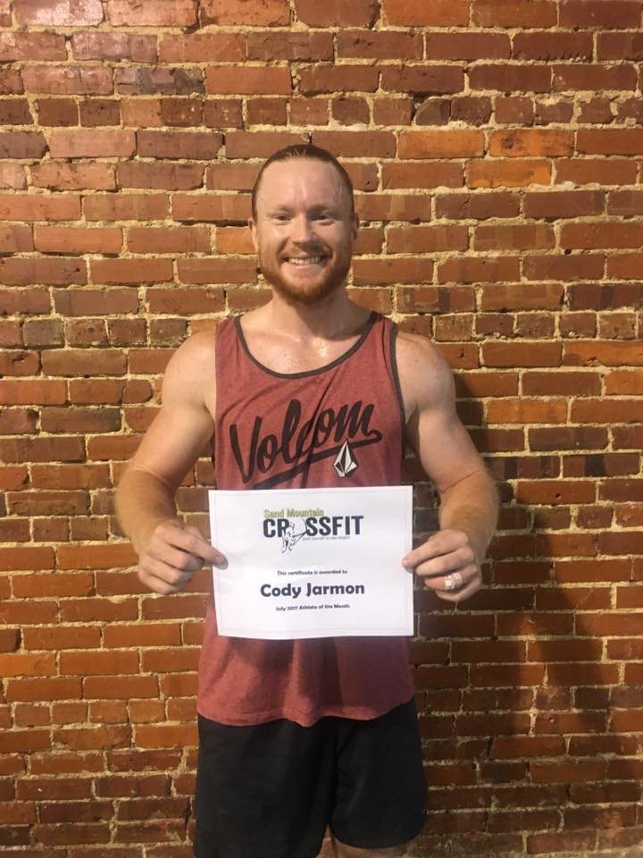 July 2017 - Cody Jarmon
