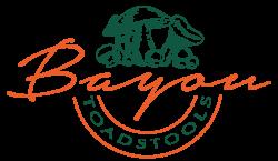 Bayou Toadstools Logo Black Green Orange - ALT.png