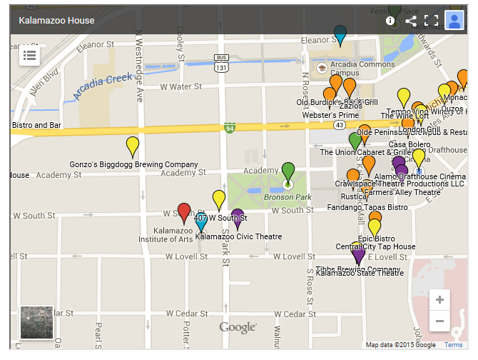 See our Map of everything