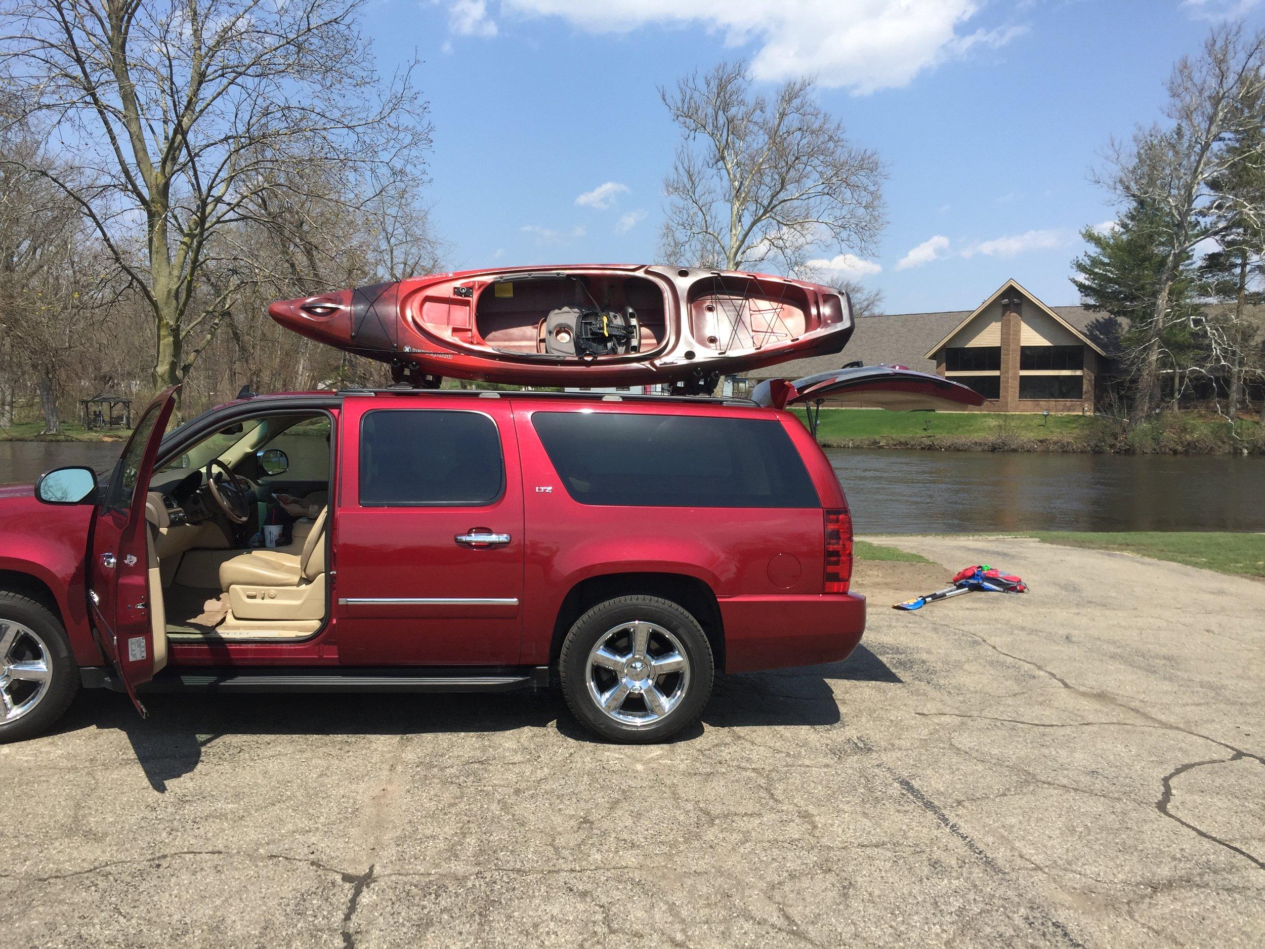 Kayak Adventure — The Kalamazoo House
