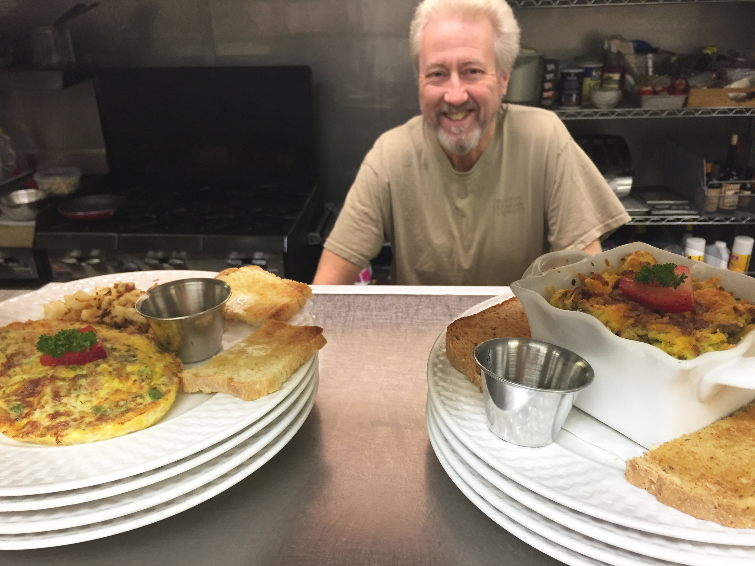 Garrett Meyers is the man behind the great tastes at The Kalamazoo House