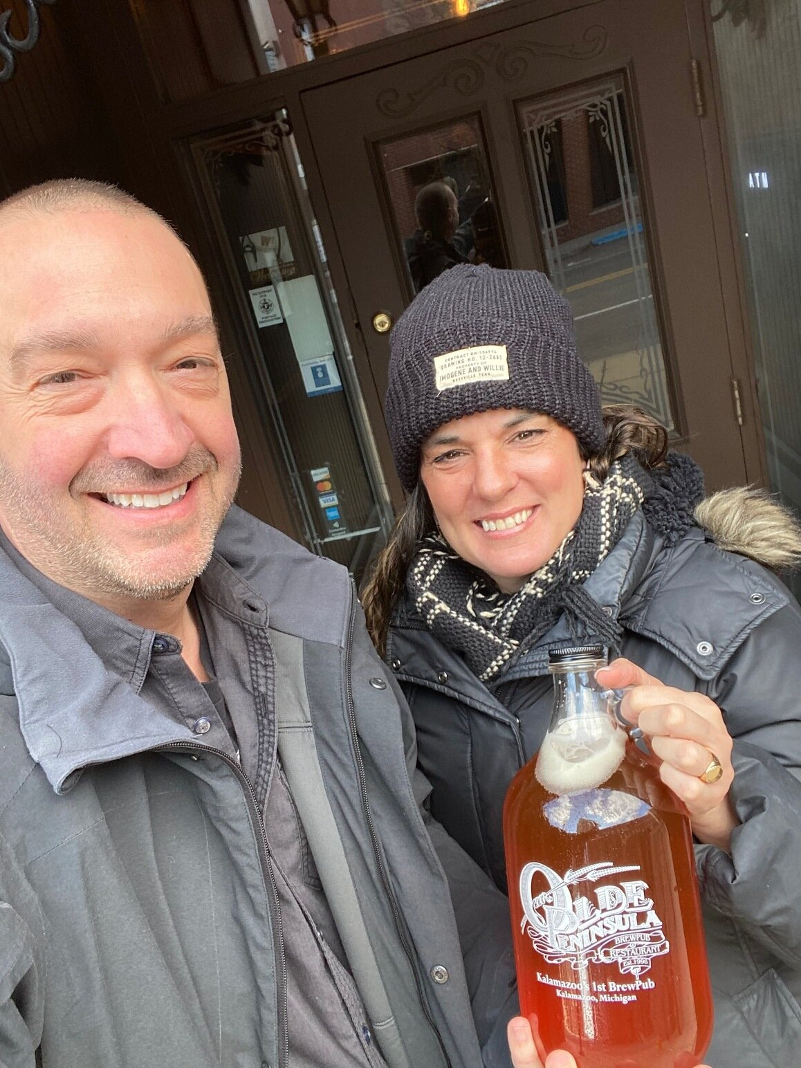 Take out growler from olde peninsula march 21st, 2020