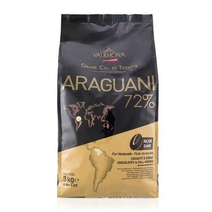 Valrhona Araguani 72% Dark Chocolate