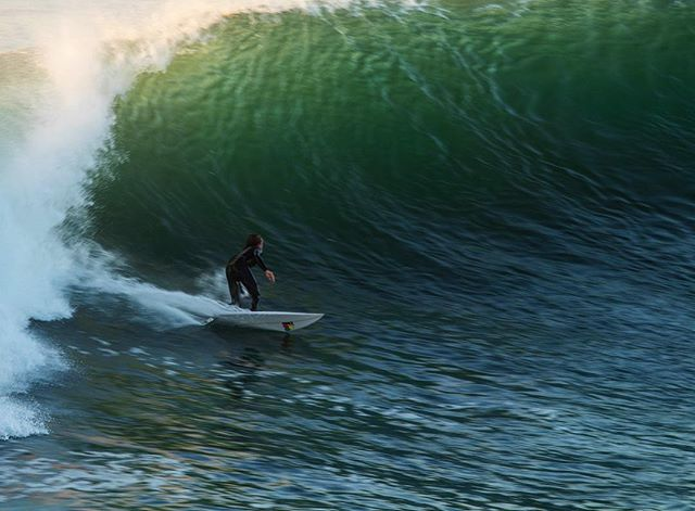 @jack_maddock enjoying a late evening session. . #chile #surf #surfphotography #puntadelobos #canonusa #channelislandssurfboards #surfing #madeofocean