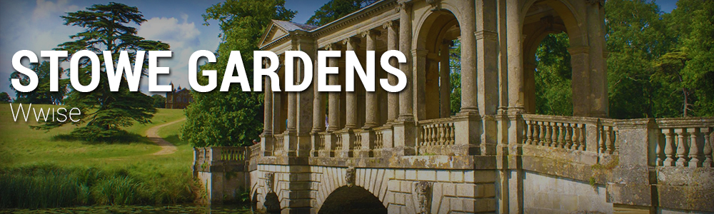 An aural re-creation of the historic landscape gardens, executed in Wwise