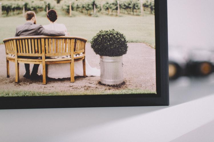 Framed Canvas -