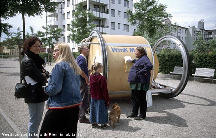 WmK Mobile Porch, Stefan Saffer with Public Works, London