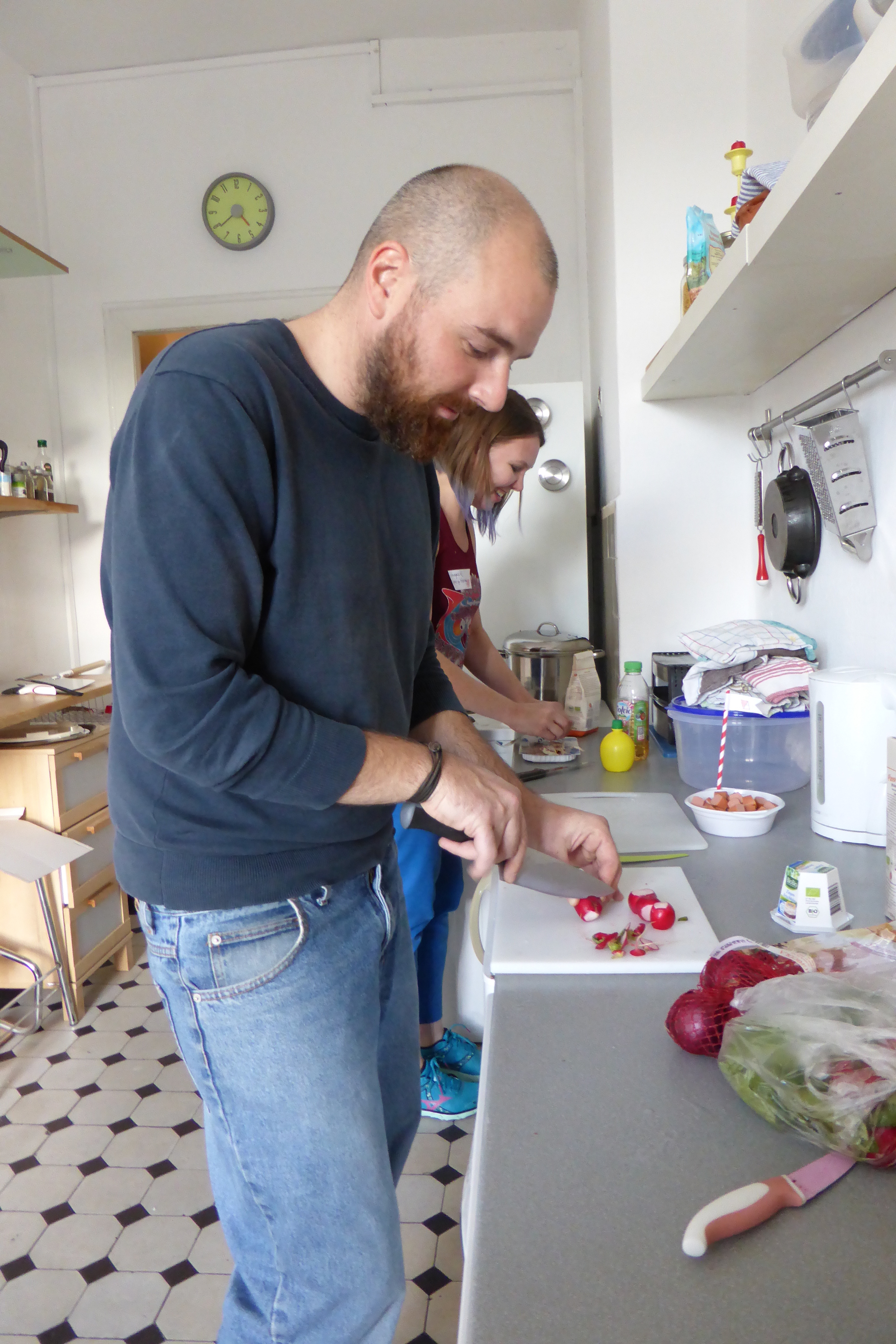 dustincutting radishes.JPG