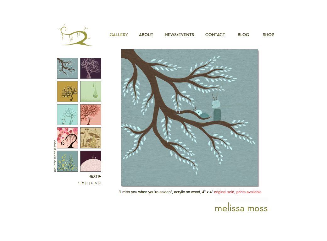 Melissa Moss Art