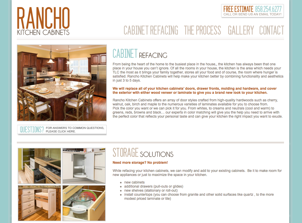 Rancho Kitchen Cabinets
