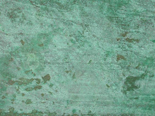 Green Patina (bronze & copper)