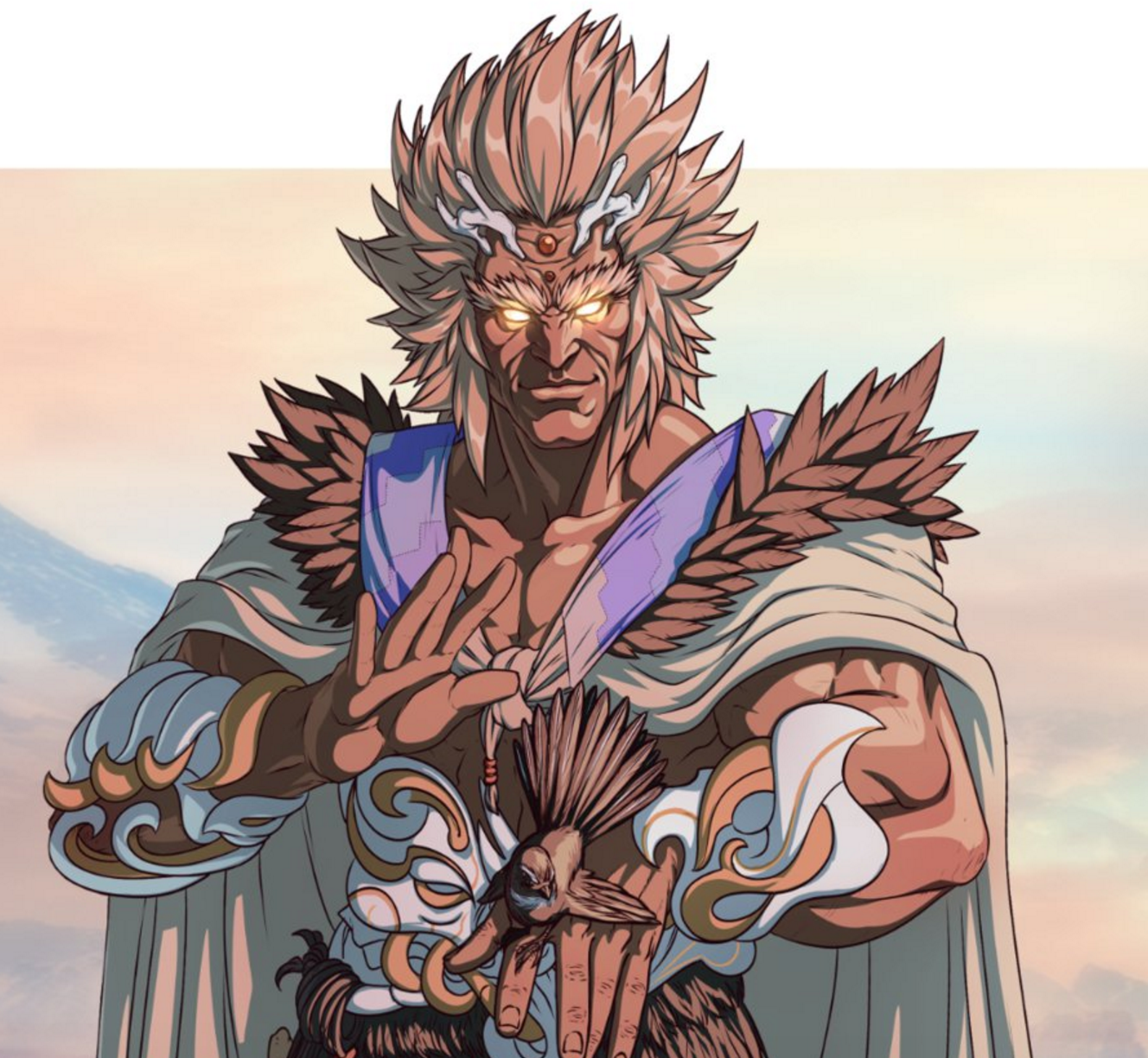 Immortal Māui and his fantail minion