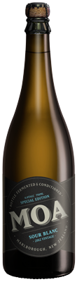 Moa Sour Blanc 2012 vintage series belgian lambic