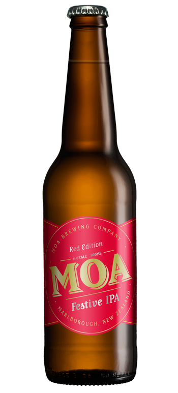 Moa Festive IPA Red Edition Easter 2015 Hop Malt