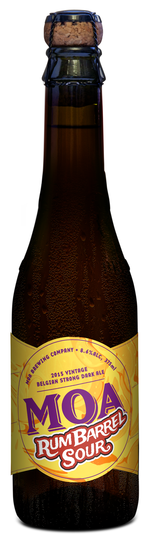 Moa Brewing Company craft beer Marlborough rum barrel sour new zealand