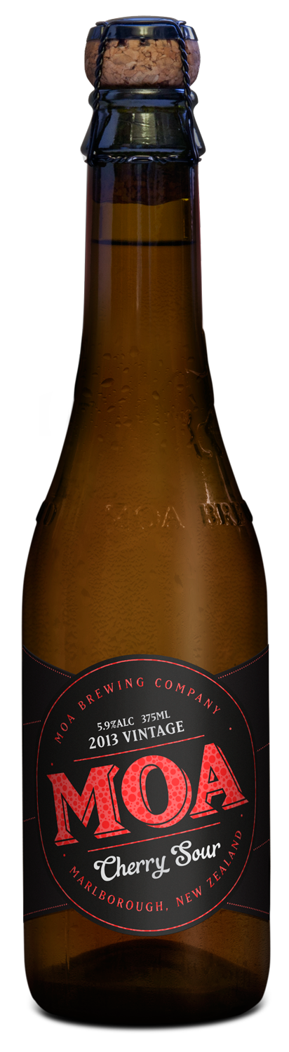 Moa Brewing Company craft beer new zealand marlborough cherry sour 2013