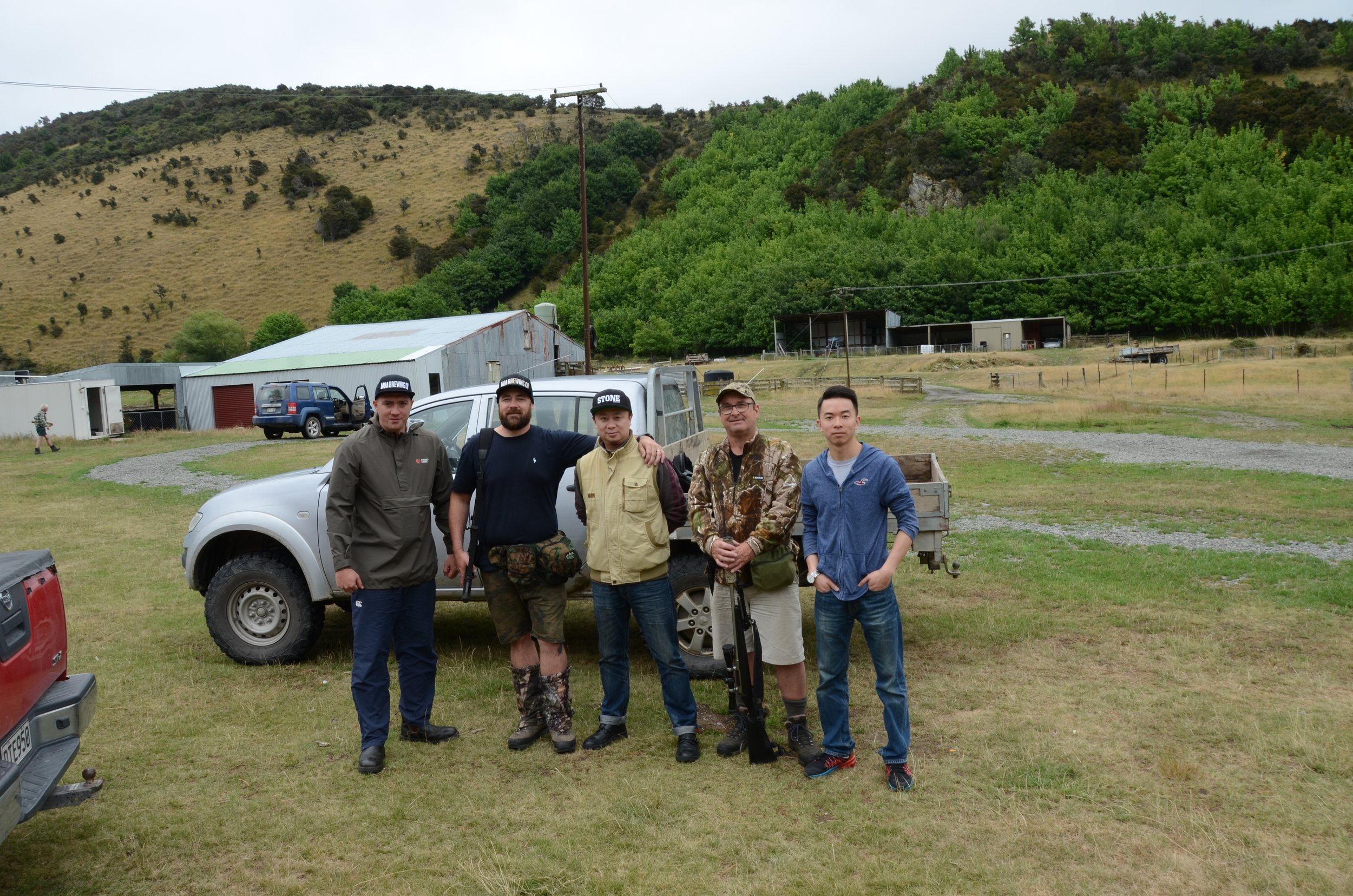 The hunting crew, Marlborough Jan 2018