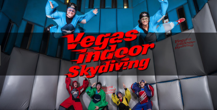 Vegas Indoor Skydiving - $25 off our Learn To Fly package (for one person, regular $75) use code FLYVBICall 702-731-4768 or click the link to right for more details