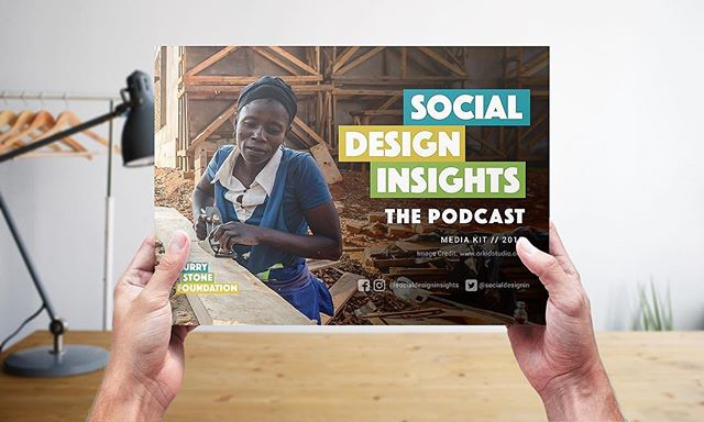 Completed 2019 press kit for the Social Design Insights podcast, brought to you by the Curry Stone Foundation.