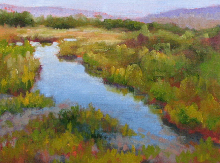 """South Plate Valley  9"""" x 12"""""""