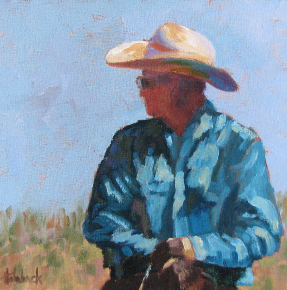"""Lonesome Cattle Call  8"""" x 8"""""""