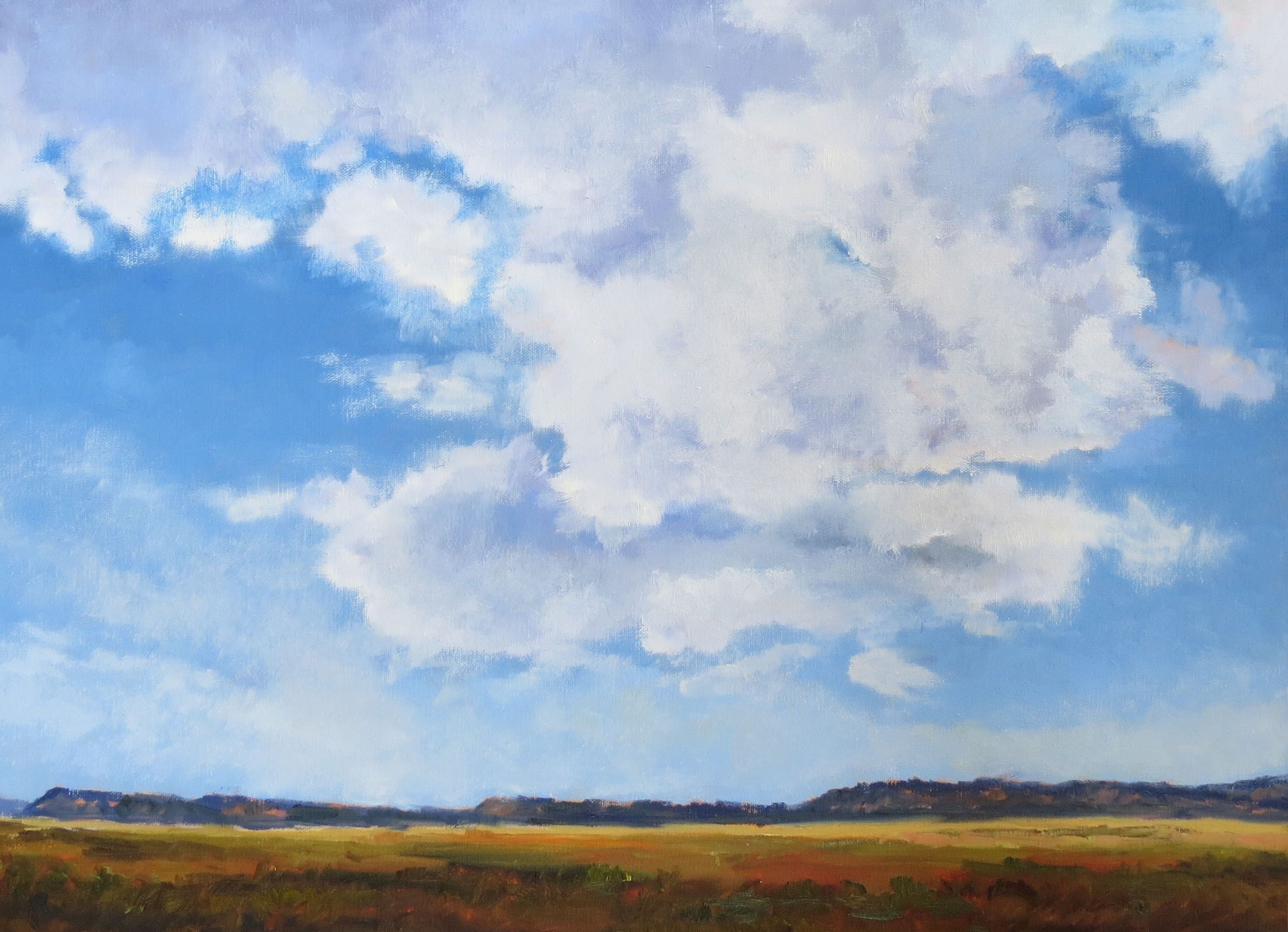 """Out On The Range  18"""" x 24"""""""