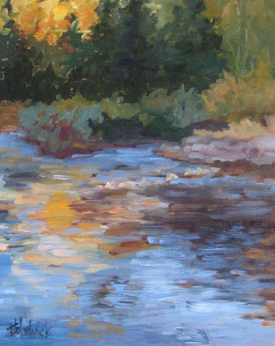 """The Dolores At Dusk  10"""" x 8""""  SOLD"""