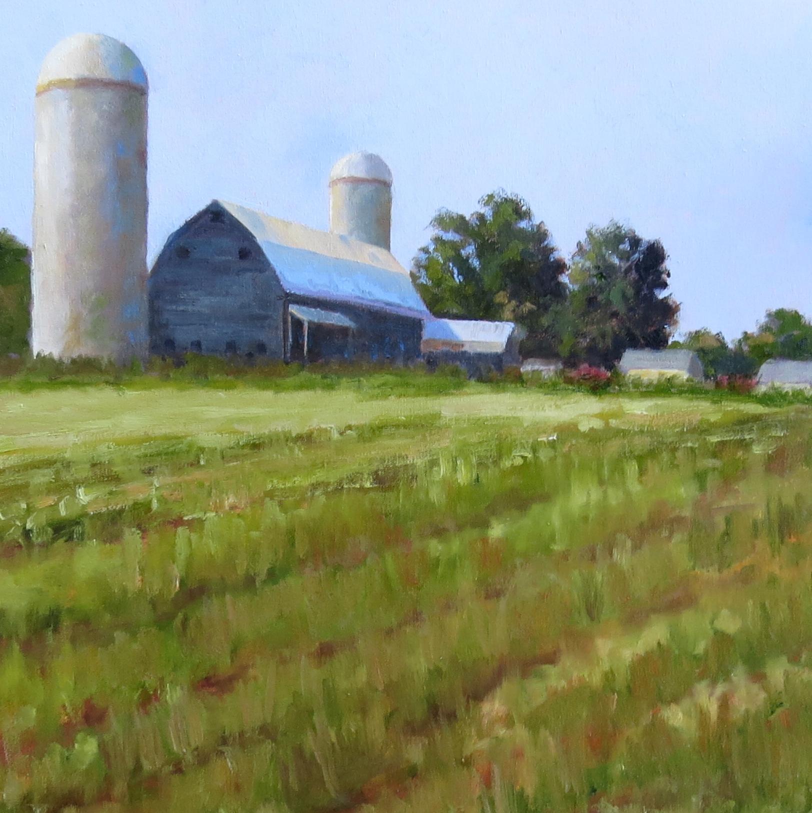 """Farm On The Hill 20"""" x 20"""""""