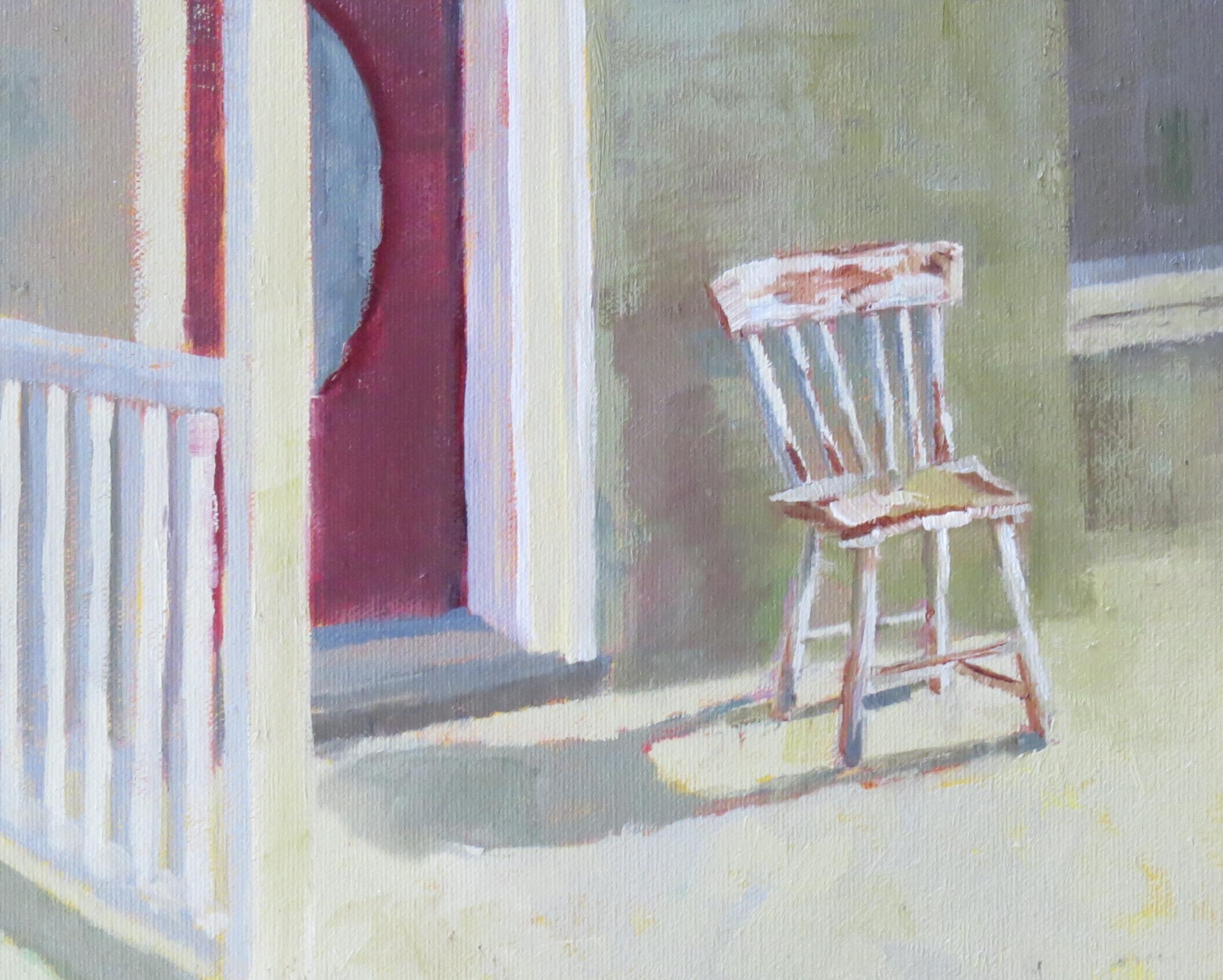 """Sweet, Little Chair  8"""" x 10"""""""