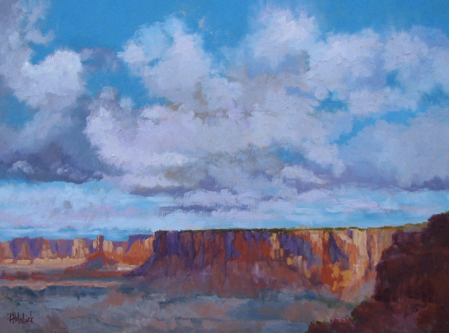 """Canyonlands After The Rain  18"""" x 24""""  SOLD"""