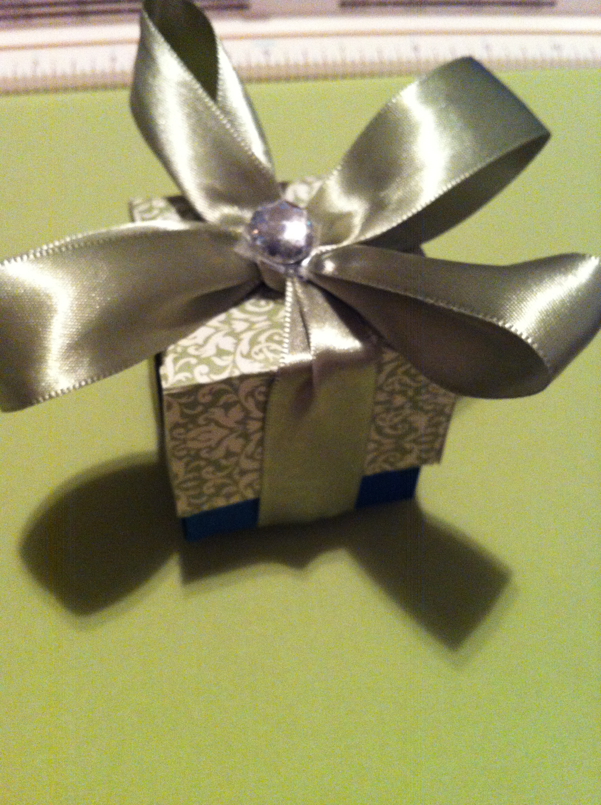 Customized Favor Boxes