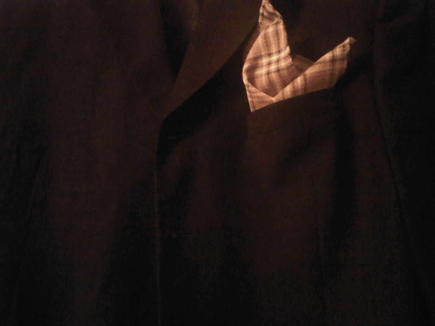 L & C Pocket Square for Men - Couture Designed - Hand Crafted $8.00