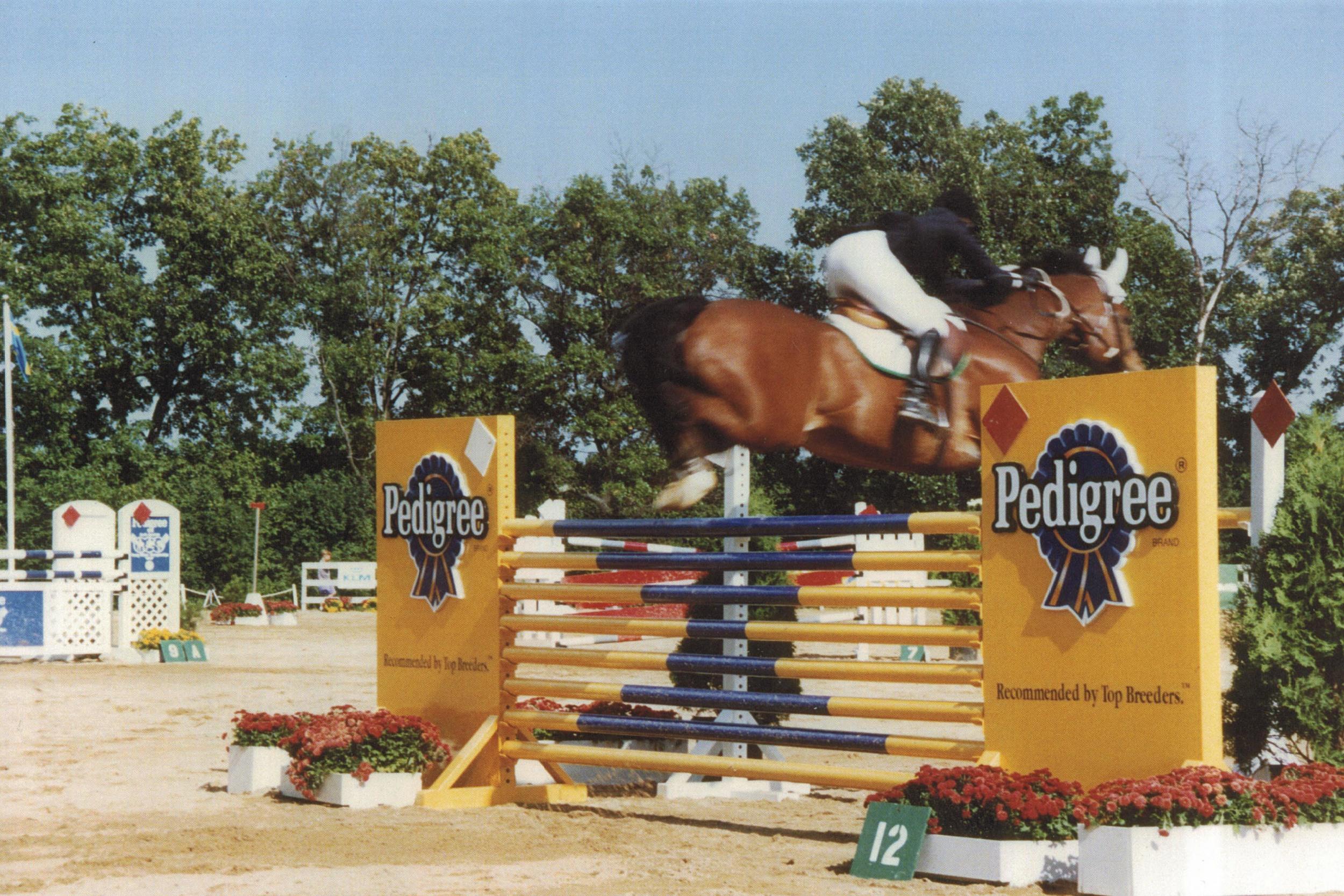 Pedigree Olympic Jump