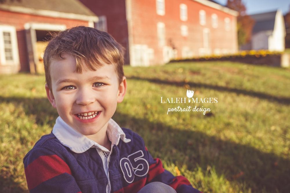 Smiling toddler photo