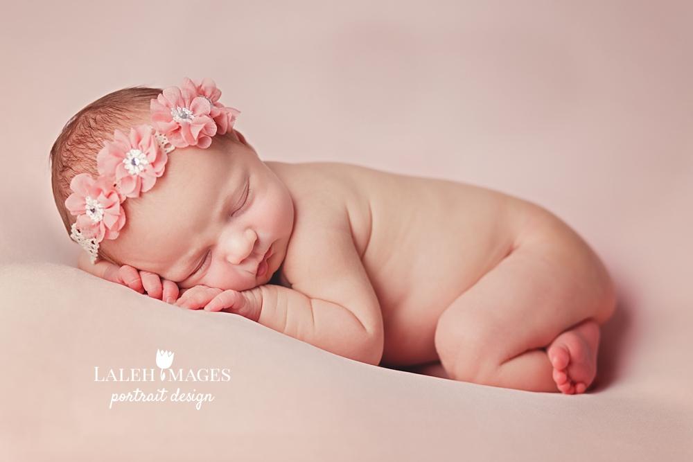 Newborn baby Sadie