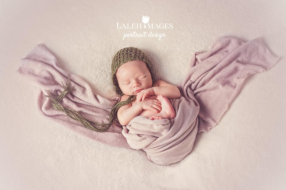 Newborn baby Thomas