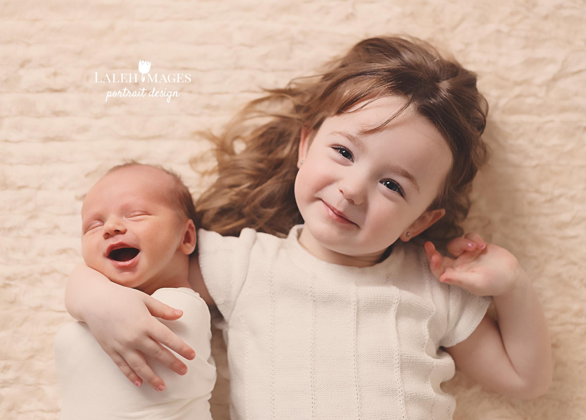 Newborn & Big Sister