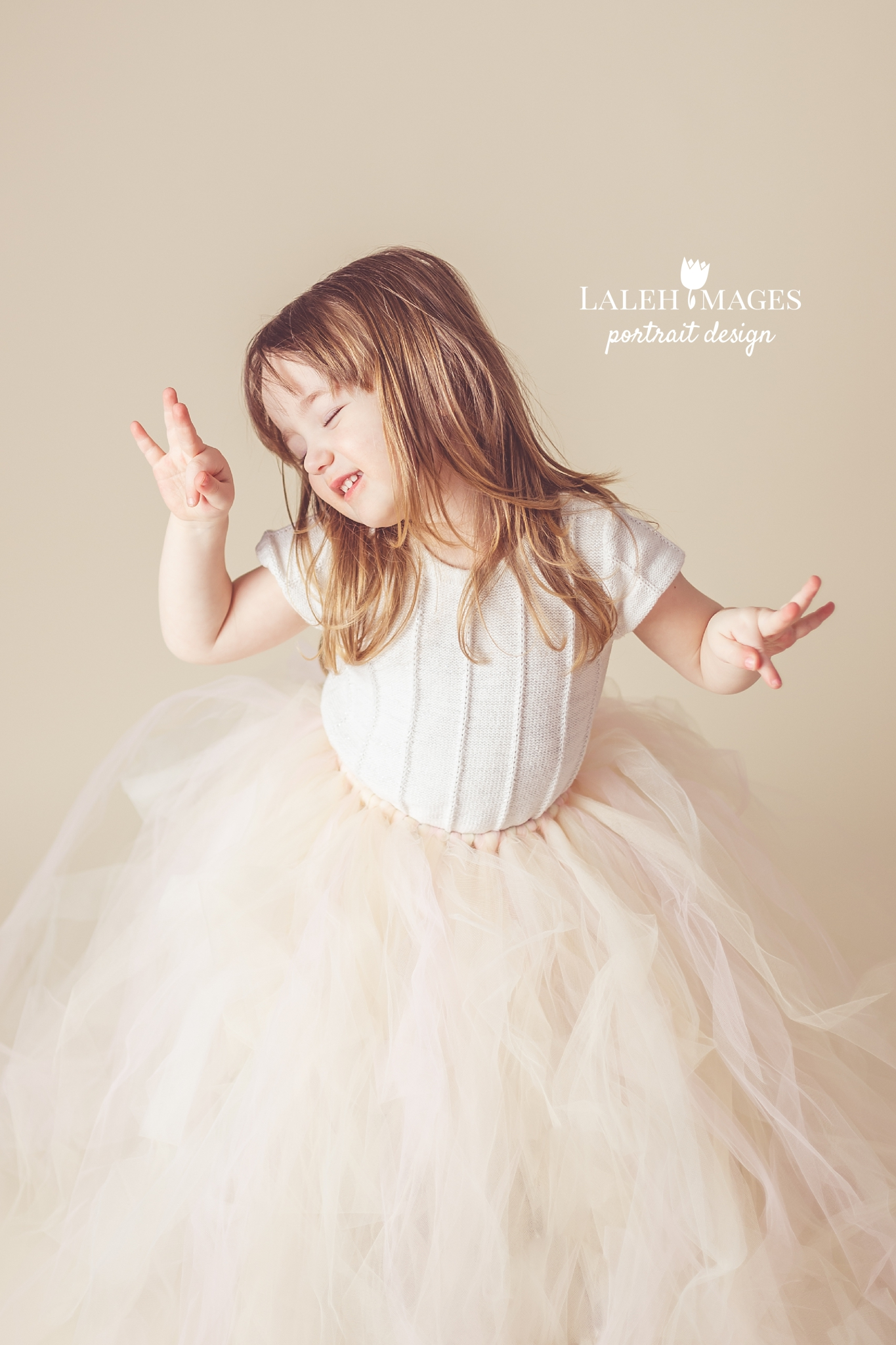dancing tutu photo little girl