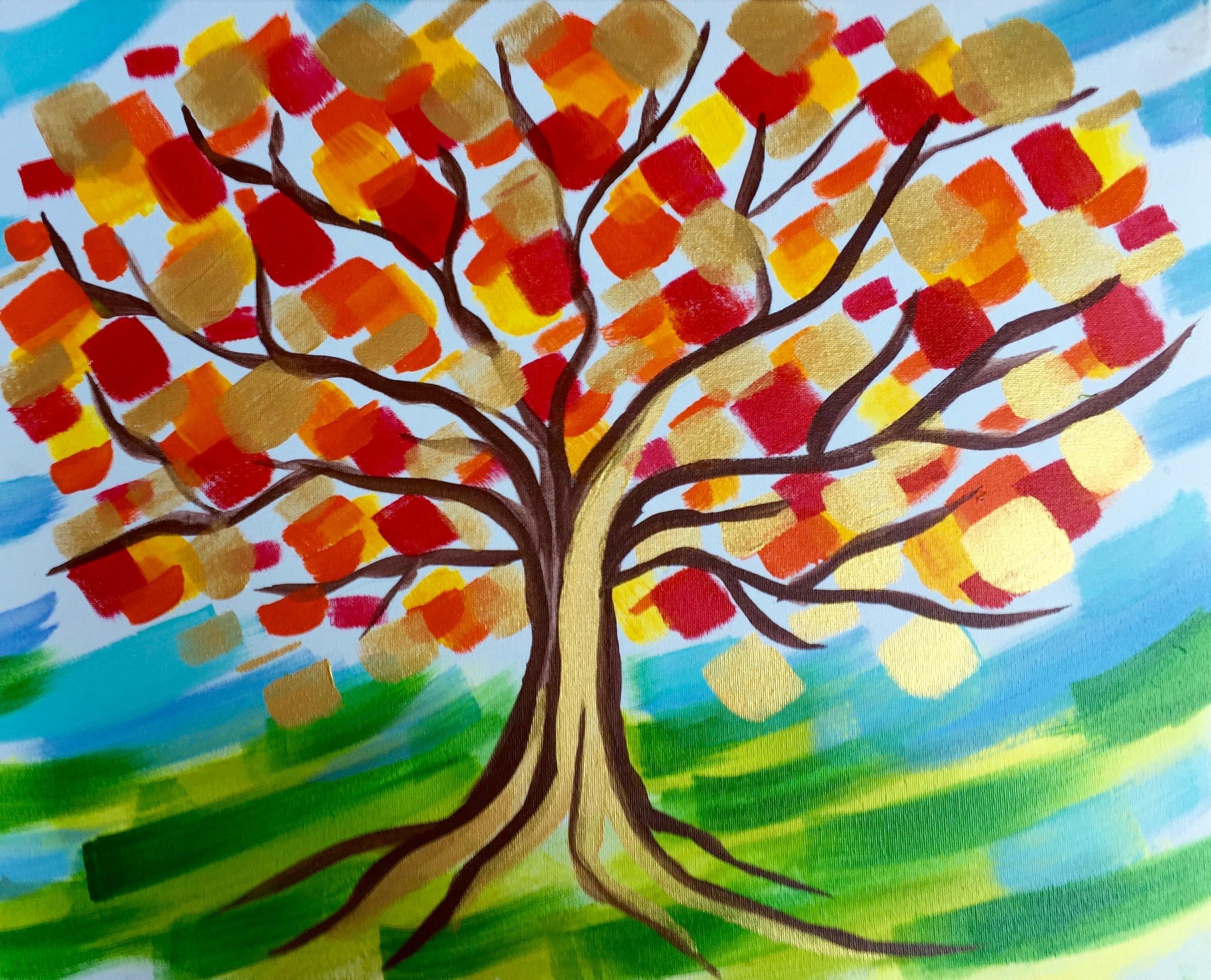 Copy of Autumn Gold Tree