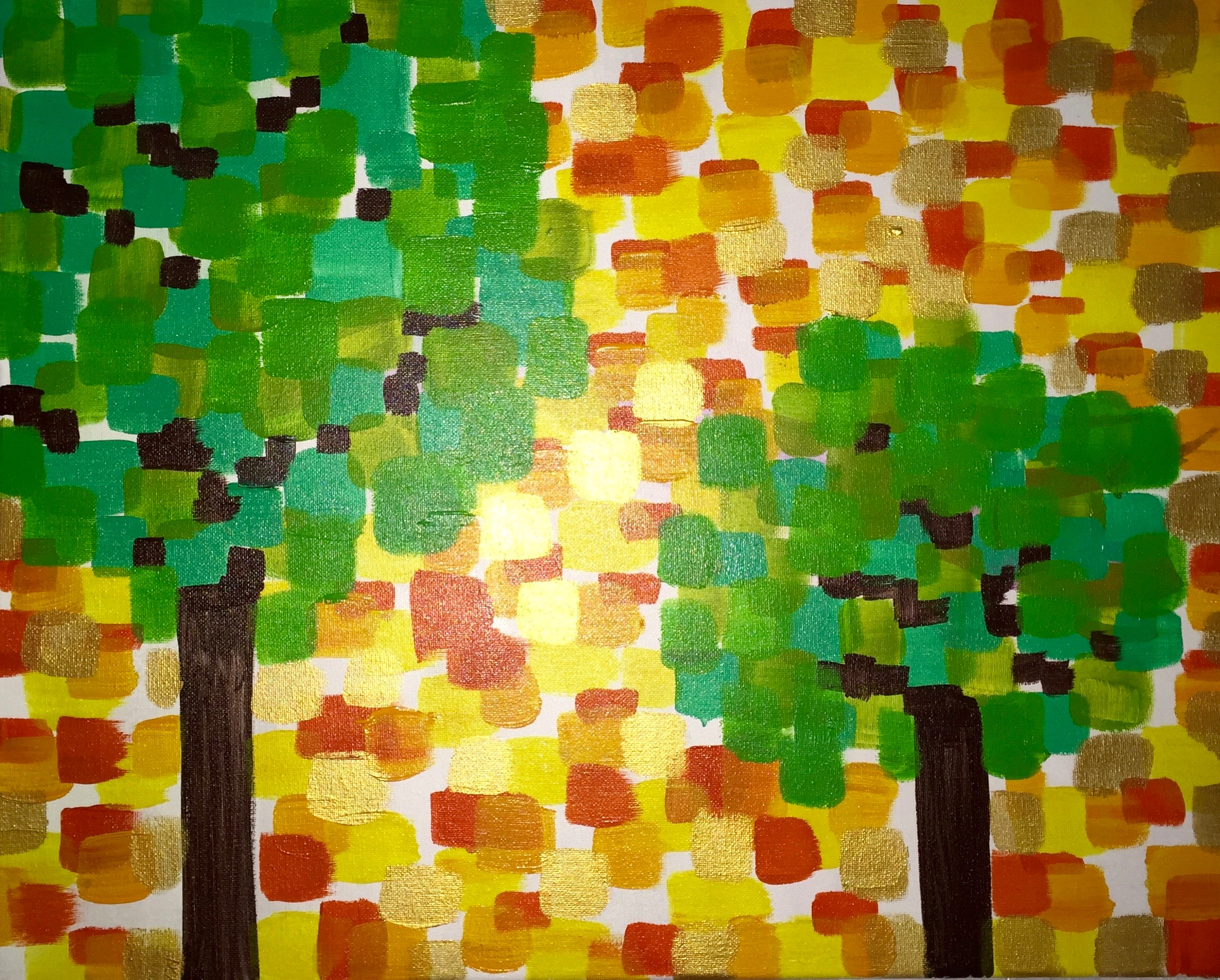 Copy of Fall Gold Tree