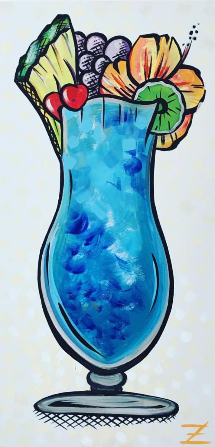 Blue Hawwaiin